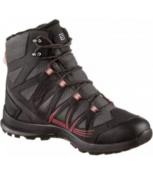 Salomon Woodsen 2 TS CSWP W Phantom-Black-Garnet Rose