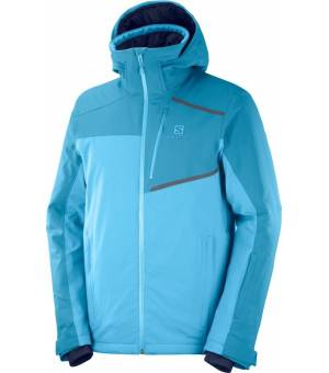 Salomon Strike Lyons M Jacket Blue-Fjord bunda