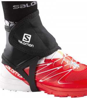 Salomon Trail Gaiters Low black návleky