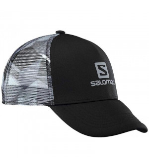 Salomon Summer Logo M Cap black/quiet shadow šiltovka