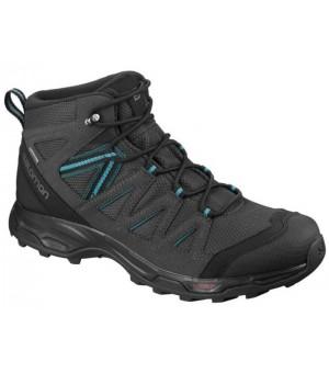 Salomon Hillrock Mid GTX obuv čierna