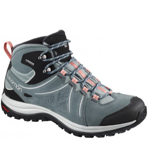 Salomon Ellipse 2 Mid LTR GTX W lead/stormy weather/coral almond