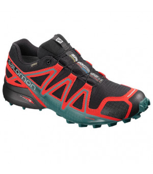 Salomon Speedcross 4 GTX black/high risk