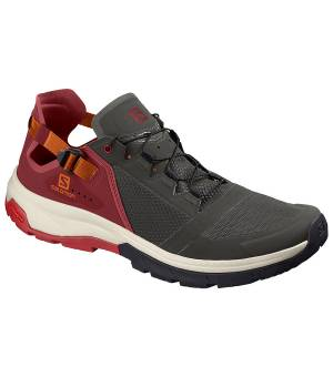 Salomon Techamphibian 4 beluga/russet orange/red dahlia
