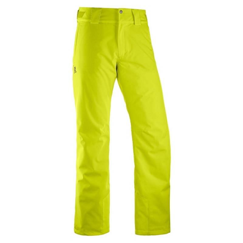 bba2d4992478 Pánske lyžiarske nohavice s membránou SALOMON STRIKE PANT M žlté ...
