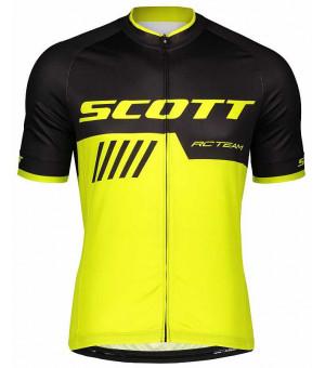 SCOTT RC Team 10 pánsky cyklistický dres dlhý zips