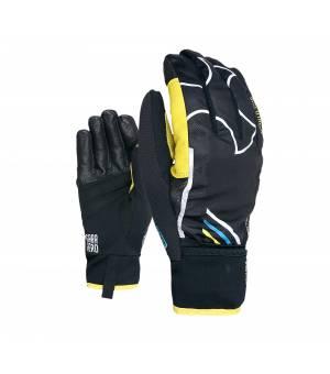 Skitrab Gara Evo World Cup 19/20 Gloves black/yellow rukavice
