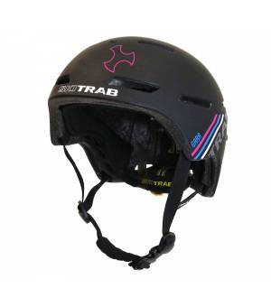 Skitrab Gara Helmet black/fuchsia 19/20