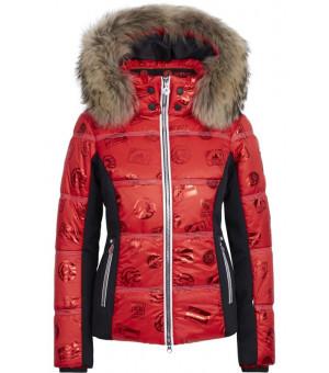 Sportalm Pfiati Ski Jacket W Racing Red bunda