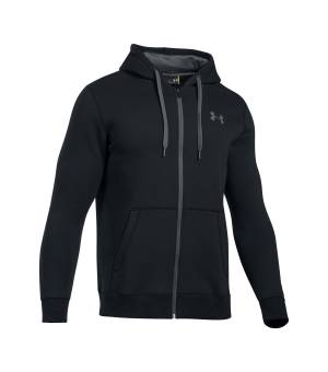 UNDER ARMOUR RIVAL FITTED MIKINA ČIERNA