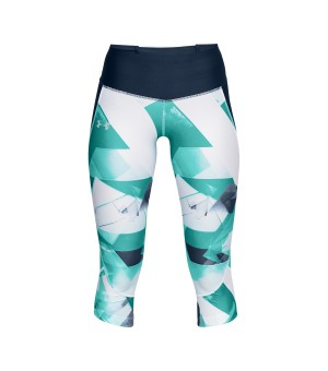 UNDER ARMOUR FLY FAST PRINT NOHAVICE ZELENÉ