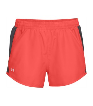 UNDER ARMOUR FLY BY SHORT W KRAŤASY RUŽOVÉ