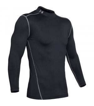 Under Armour Coldgear Mock S/L tričko 10 čierne