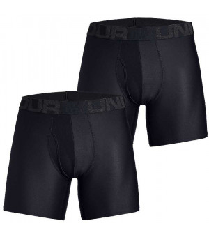 Under Armour Tech 6in boxerky 10 čierne