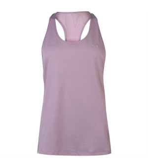 Under Armour HeatGear Racer Tank W purple tielko