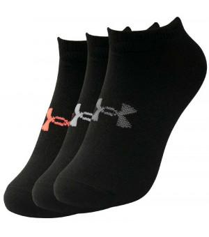 Under Armour Essentials  W ponožky 10 čierne