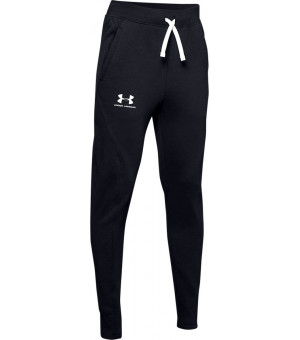 Under Armour Rival Solid Joggers black/white nohavice