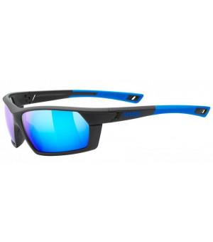 Uvex Sportstyle 225 black blue slnečné okuliare