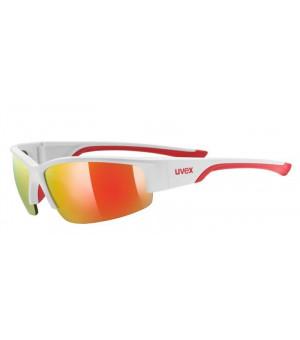 Uvex Sportstyle 215 mat red slnečné okuliare