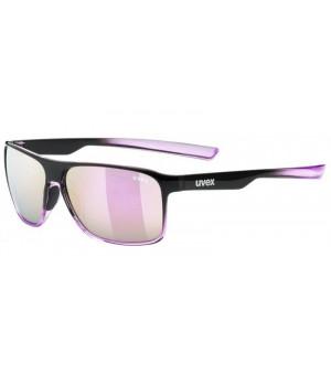 Uvex LGL 33 POLA black purple slnečné okuliare