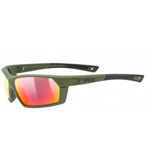 Uvex Sportstyle 225 olive slnečné okuliare