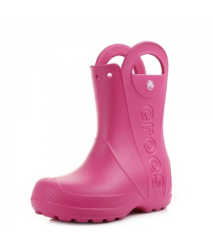 CROCS HANDLE IT RAIN BOOT KIDS ČIŽMY RUŽOVÉ