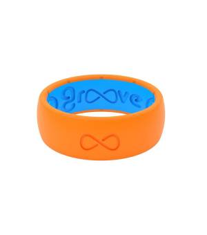 Groove Original Solid blaze orange prsteň