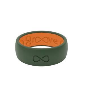 Groove Original Solid moss green prsteň
