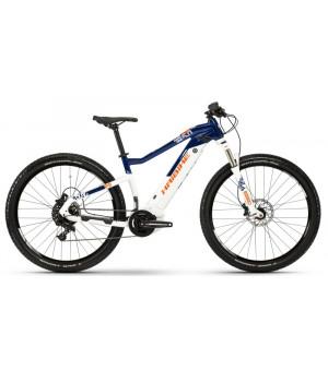 Haibike SDURO HardNine 5.0 elektrobicykel modrá/biela/oranžová 2019