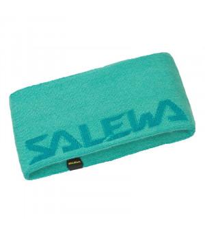 Salewa Pedroc Wool Headband lagoon green čelenka