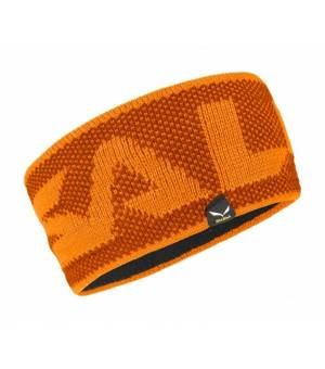 Salewa Puez Alphubel Wool Headband carrot čelenka
