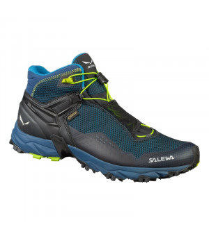 Salewa MS Ultra Flex Mid GTX poseidon/fluo yellow