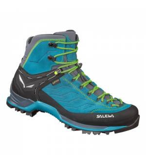 Salewa MS Mountain Trainer Mid GTX poseidon/fluo yellow