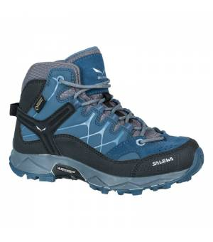 Salewa Junior Alp Trainer Mid GTX dark denim/charcoal