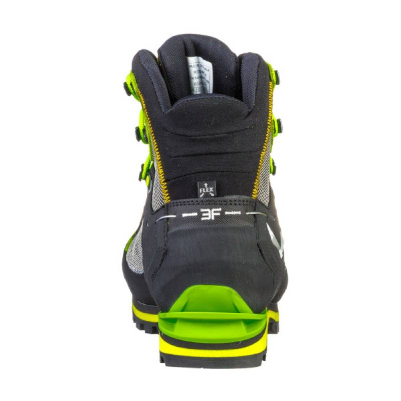 e00f71bb8008 Pánske vysoké turistické topánky SALEWA MS Crow GTX zelené