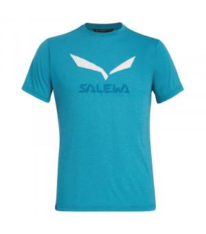 Salewa Solidlogo Drirelease M T-Shirt ocean melange tričko