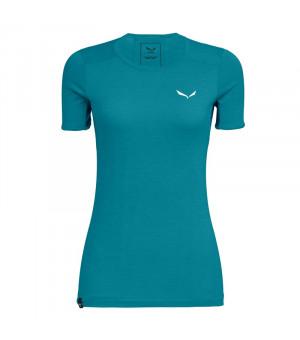 Salewa Puez Graphic 2 Dry W T-Shirt ocean melange tričko
