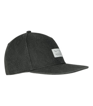 Salewa Puez Canvas Flat Cap black šiltovka