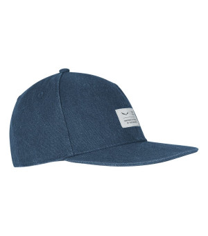 Salewa Puez Canvas Flat Cap dark denim šiltovka