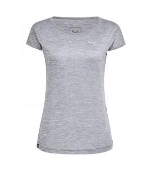 Salewa Puez Melange Dry W T-Shirt quiet shade melange tričko
