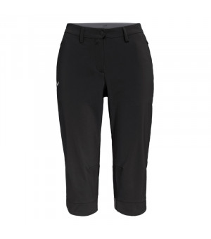 Salewa Puez Durastretch 3/4 W Pant black out nohavice
