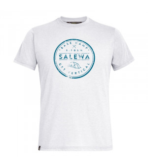 Salewa Base Camp Drirelease M T-Shirt white tričko