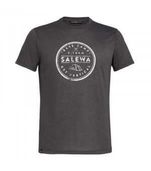 Salewa Base Camp Drirelease M T-Shirt black out melange tričko