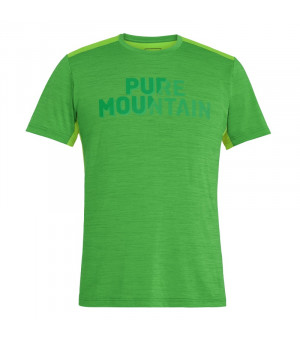 Salew Puez Hybrid 2 Dry M Tee classic green melange tričko
