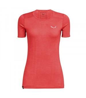 Salewa Puez Graphic 2 Dry W T-Shirt fluo coral melange tričko