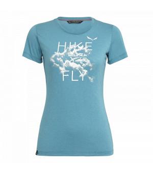 Salewa X-Alps Drirelease W Tee ocean tričko