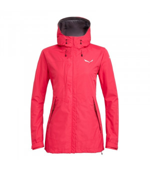 Salewa Puez Clastic Powertex 2L W Jacket rose red bunda