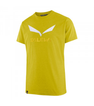 Salewa Solidlogo Drirelease M T-Shirt kamille yellow melange tričko