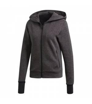 Adidas Must Haves Versatility W Hoodie Black Melange mikina