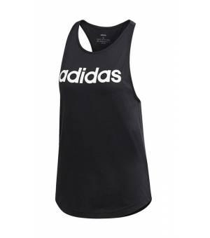 Adidas W E LIN LOOS Tank Black tielko